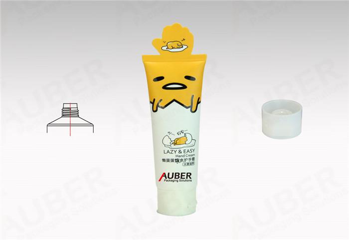D35mm Plastic Hand Cream Tubes Vendor with White Screw On Cap