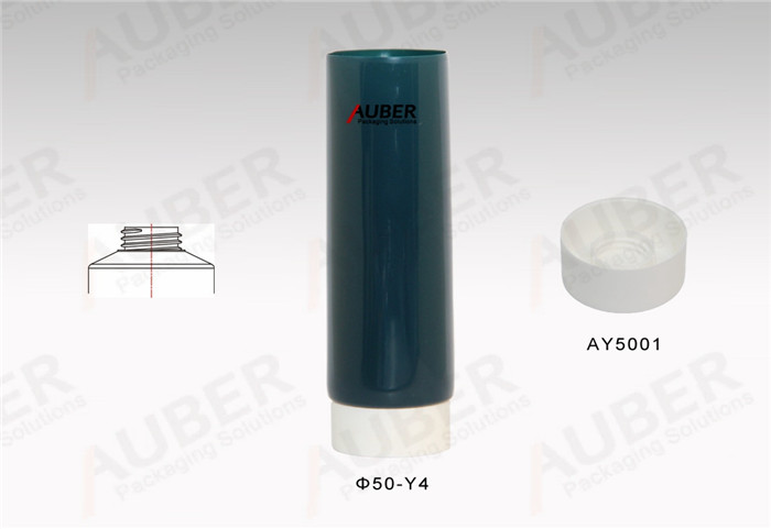 D50mm COEX tubes for Cosmetic with White Screw On Cap