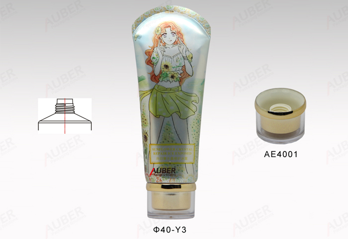 round tube packaging cosmetics 60ml to 150ml