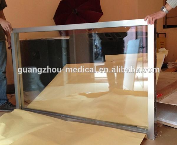 lead glass with Aluminum alloy frame.jpg