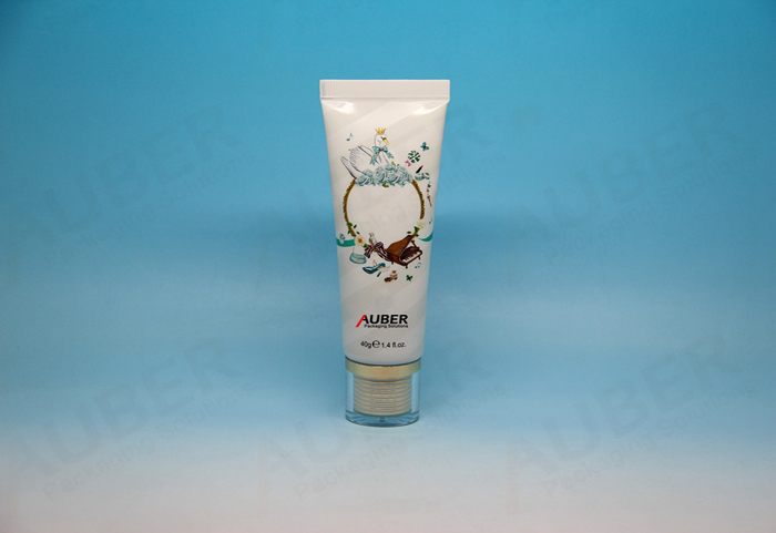 D30mm Round Tube with Transparent Double-layer Cap for Hand Cream