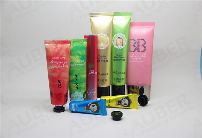ABL Cosmetic Tubes Packaging in Different Sizes with Different Caps