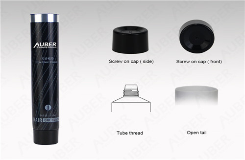 D35mm  High Glossy Skincare Tube Packaging with Screw On Cap