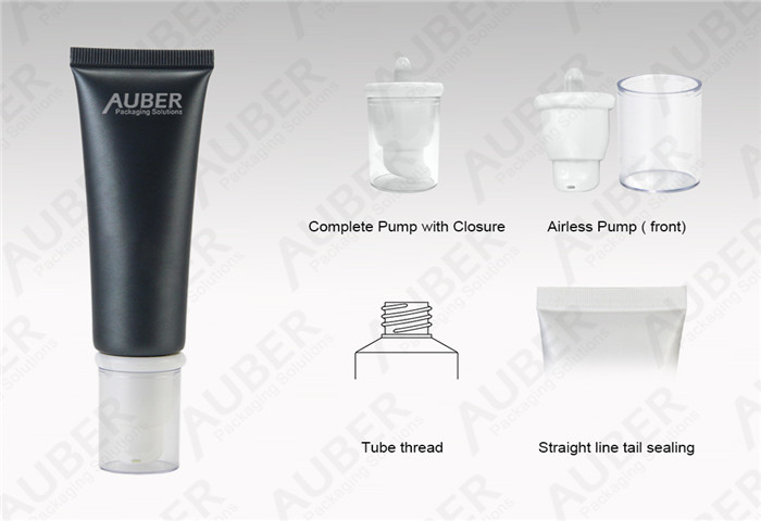 D30mm Cosmetic Airless Tube for Sunblock