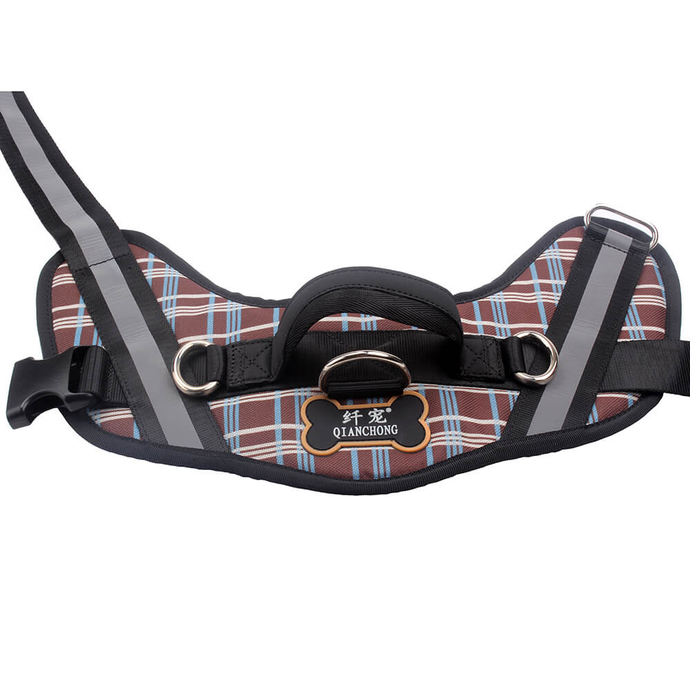Reflective Padded Pet Harness: New Padded Pet Harness Manufacturer | QQpets