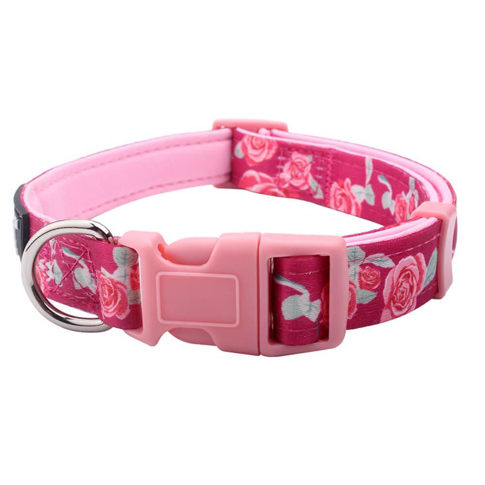Padded Adjustable Dog Collar: Custom Dog Collars Factory-QQpets