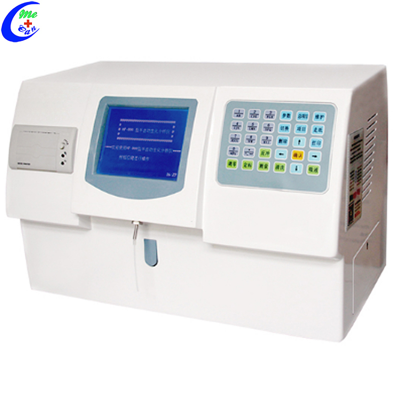 Laboratoriumtoerusting Semi-outomatiese biochemie-analiseerderprys, kliniese bloed semi-outomatiese chemie-analiseertoerusting