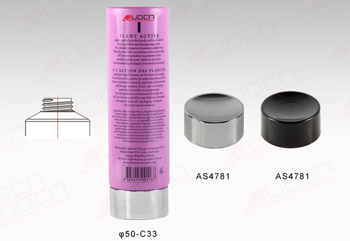 This is a D50mm Beauty Products Packaging.