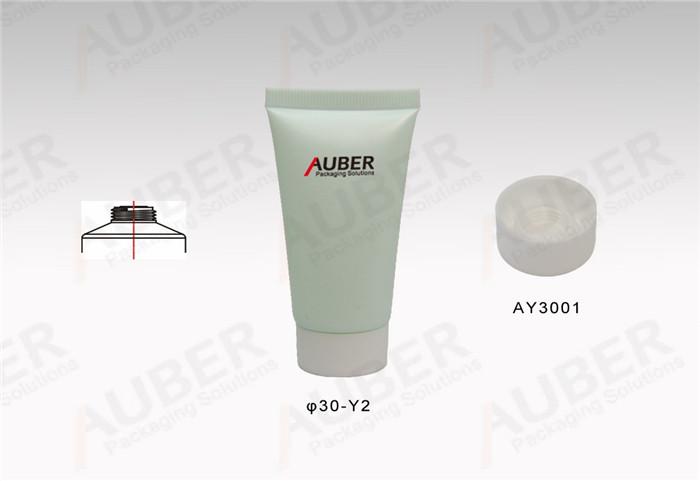 D30mm Skincare Plastic Tube with Screw On Cap