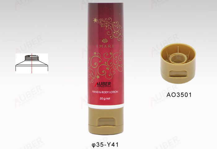 Squeeze Tubes For Cosmetics Flip Top