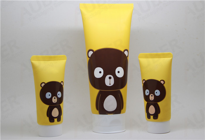 Lovely Plastic Squeeze Tube for BB Shampoo