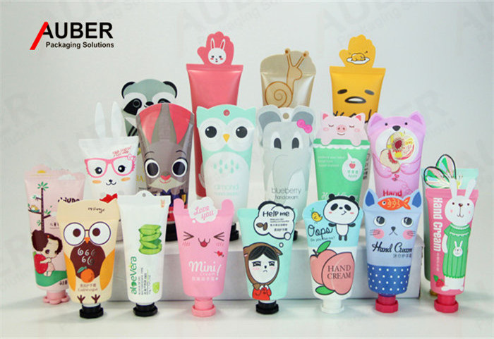 Auber Plastic lotion tubes with animal shape tails