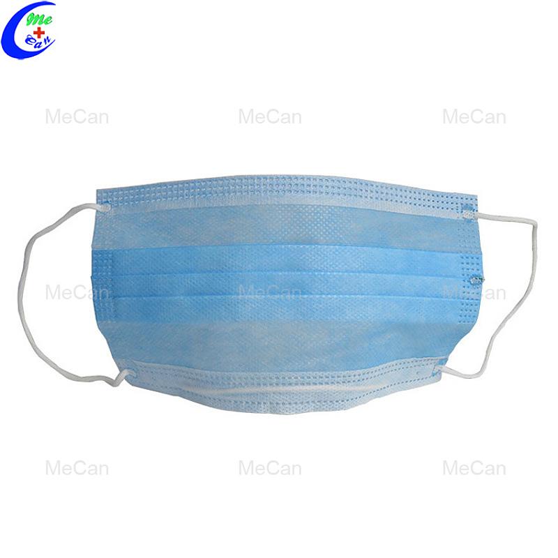 3-plys mediese steriele weggooibare gesigmasker