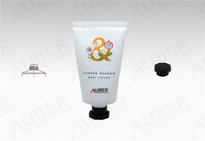 Dia.35mm Polyfoil Hand Cream Tube with Octagonal Cap