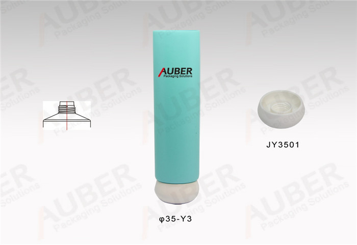 D35mm Light Blue Skincare Tubes with Screw On Cap
