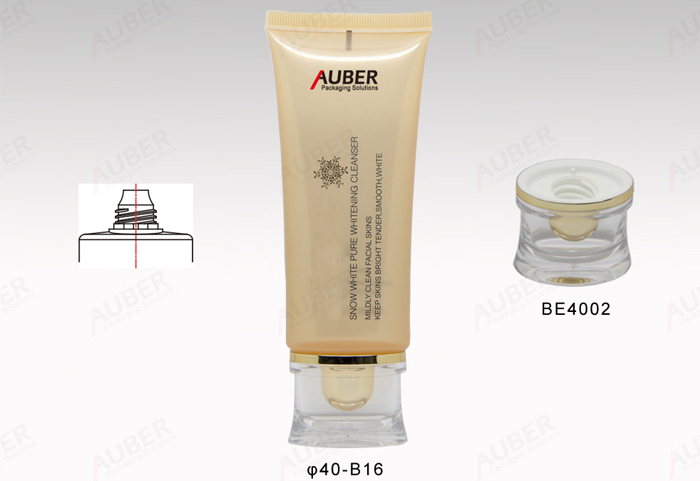Oval Lotion Tube in 40mm Dia