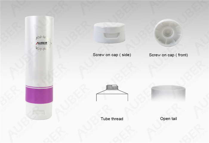 Hot Foil Cosmetic Tubes Packaging