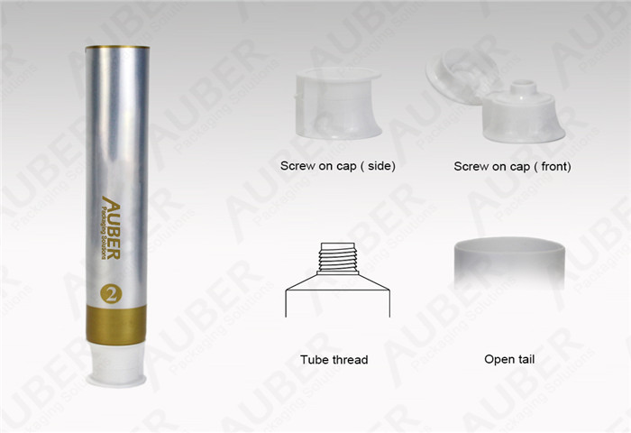 D35mm Aluminum Plastic Laminated Tube for Toothpaste with Flip Top Cap