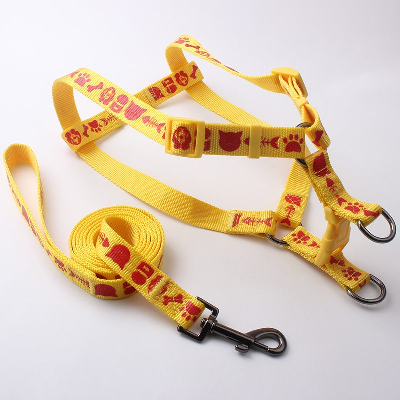 custom dog leash&harness wholesale