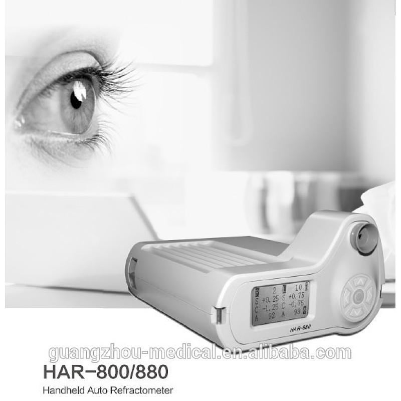 Oogheelkundige handrefraktometer, draagbare digitale outomatiese refraktometer draagbaar