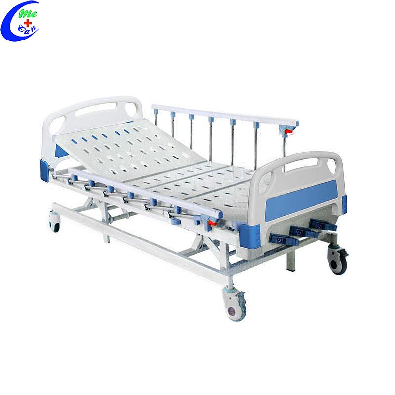 مشروع مستشفى معدني 3 سرير مستشفى يدوي ، سرير مستشفى كهربائي