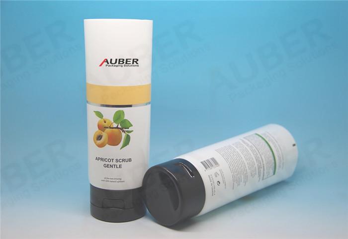 Skincare Plastic Laminated Tube with Black Cap