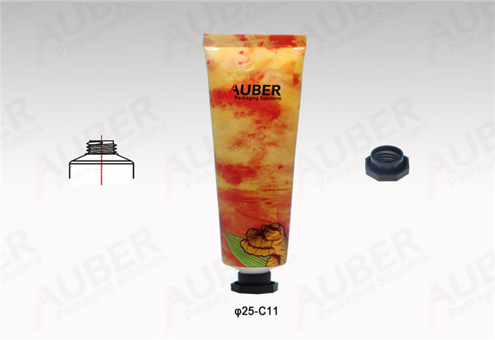 Auber D25mm Colorful Metal Skincare Tube with Octagonal Cap