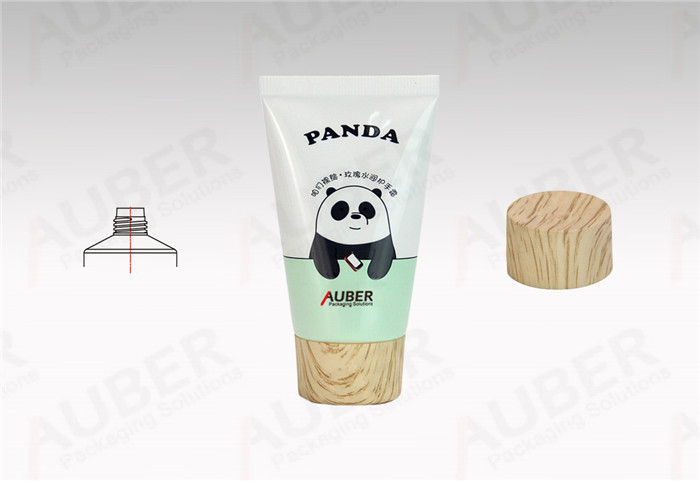 Auber Whole Plastic Laminated Tube in Dia.35mm with Wood Texture Screw On Cap