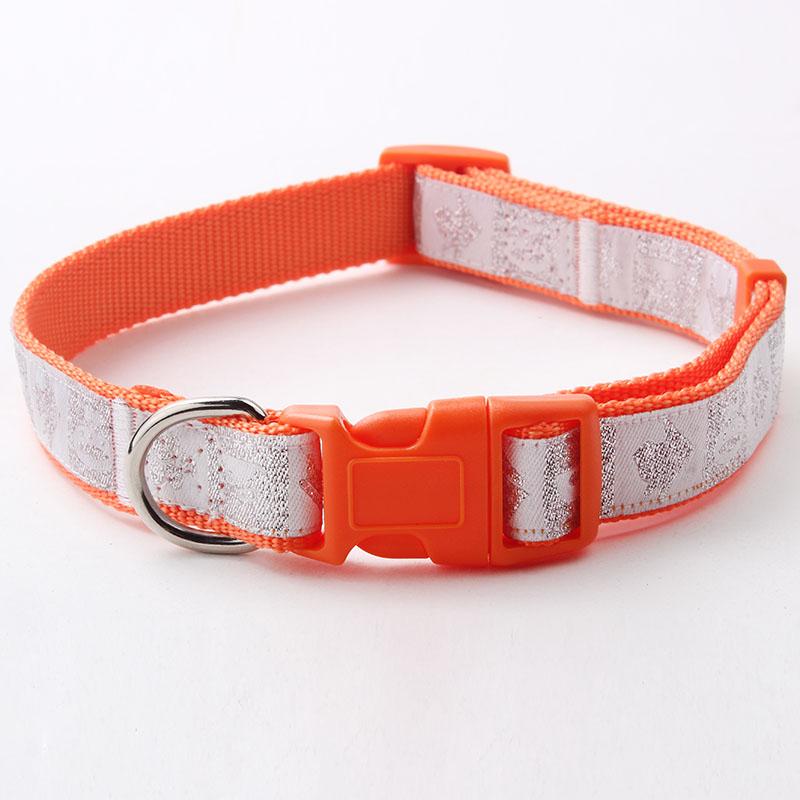 Professional Dog Collar: Factory Custom Jacquard Dog Collar-QQpets