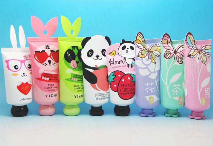 This is new-shaped cosmetics packaging for young generation.