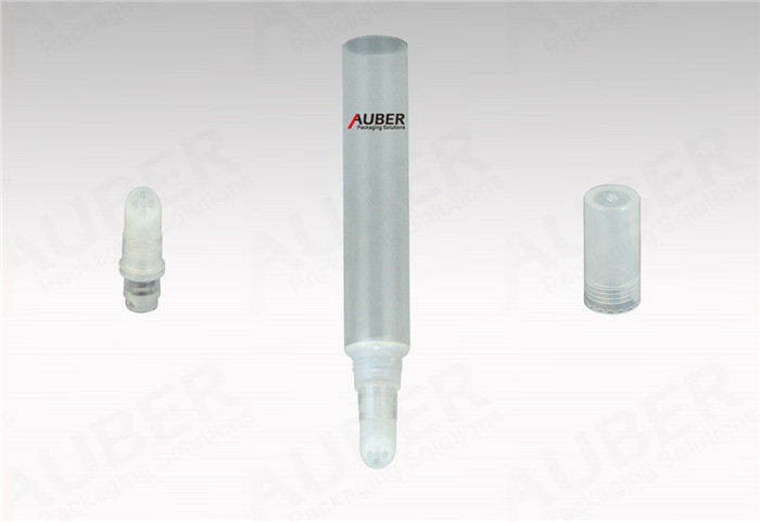 Auber D19mm Clear Plastic Packaging Lip Gloss with Silicone Head Mosowow