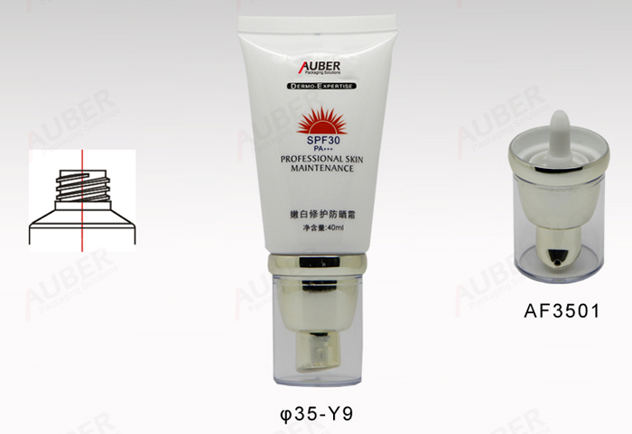 Airless Pump tubes For Cosmetics 40ml to 100ml