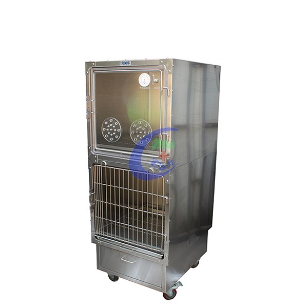Veterinary Equipment Stainless Steel Oxygen Cage
