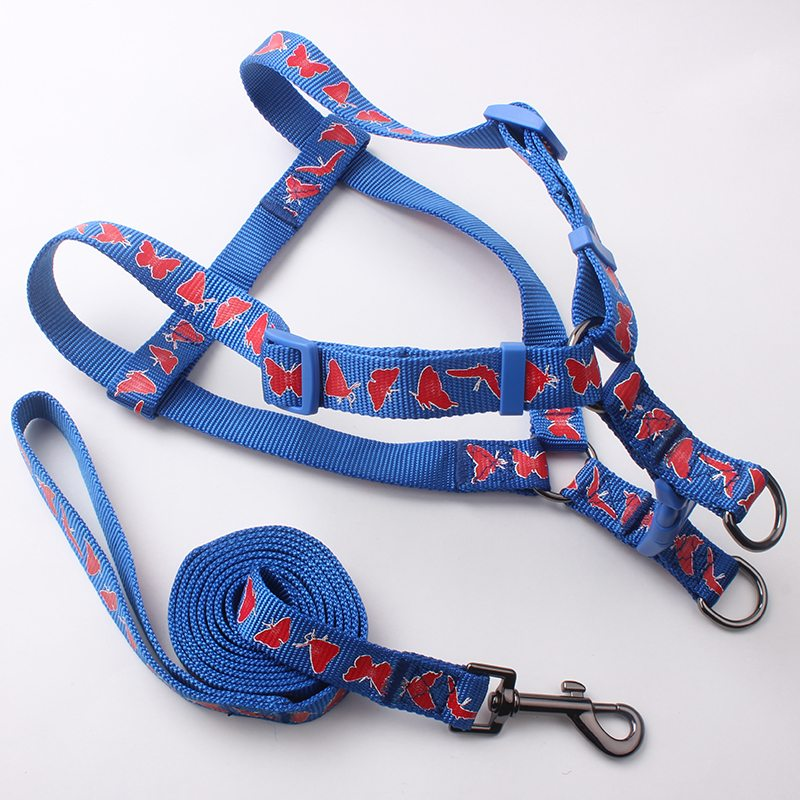 nylon dog leash&harness supply