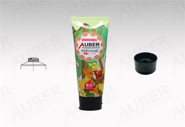 Personal care Tube D40mm with Black Flip Top Cap