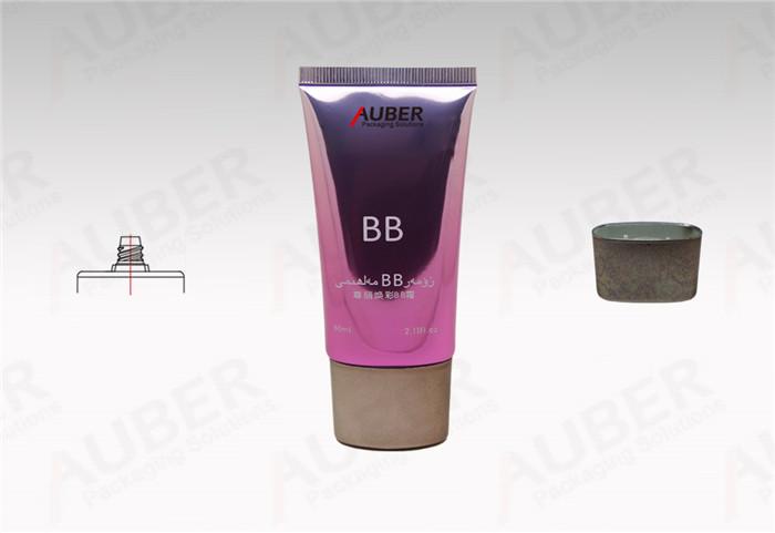 D35mm High Glossy BB Cream Tube with Metallic Cap