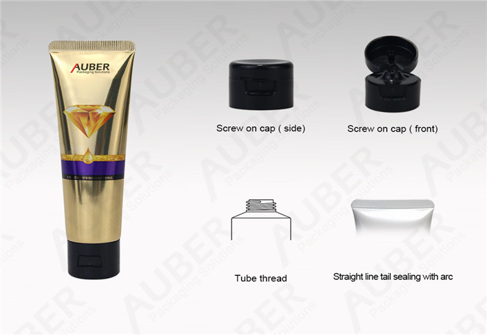 High Glossy Laminated Tubes For Hand Cream