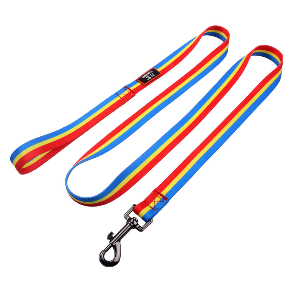 Best pet leash: 2.0 size polyester pet leash with custom logo metal hook supply
