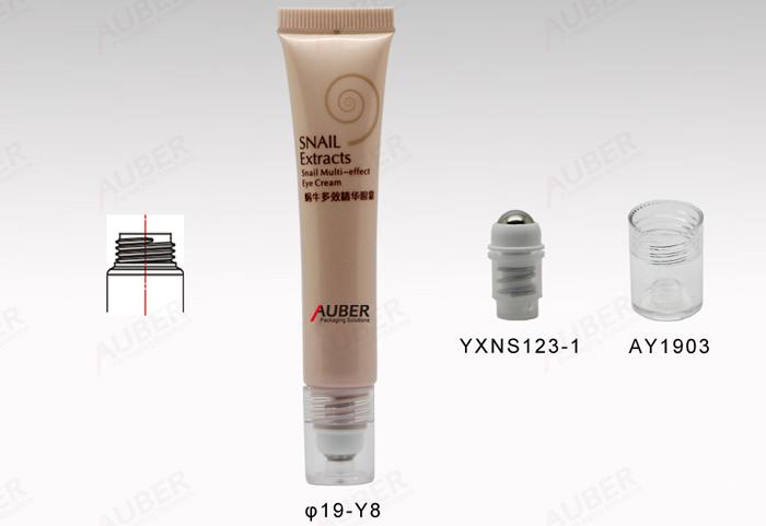 Auber D19mm One Roll Plastic Tube Packaging for Lip