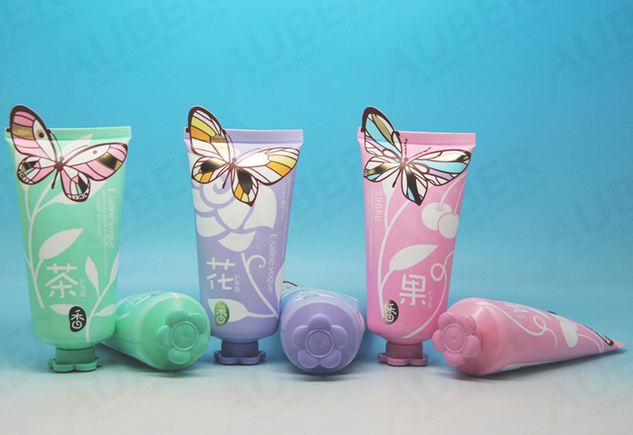 Cosmetics tube packaging for children skincare product