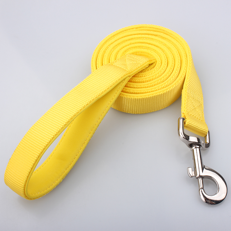Padded Dog Leashes: Hot Sale Nylon Padded Dog Leashes supplier-QQpets