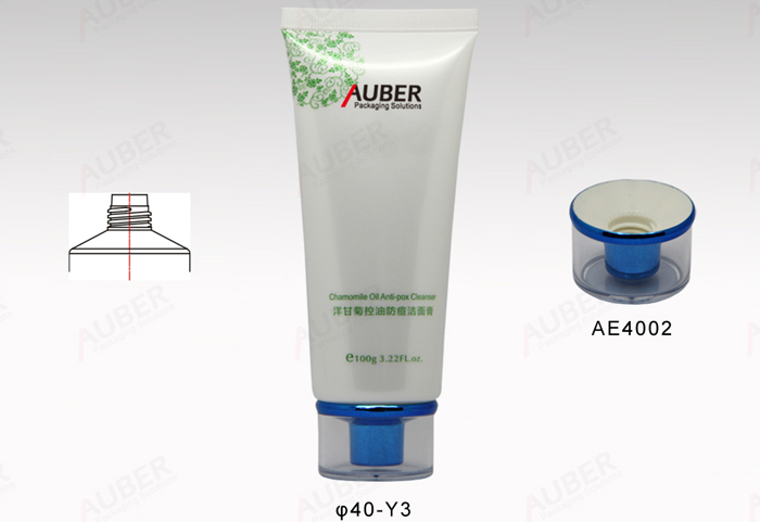 D40mm Round Printed Cosmetics Tubes