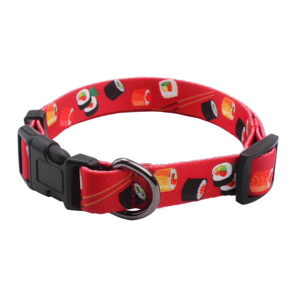 อุปกรณ์ปลอกคอสุนัขแฟนซี: ปลอกคอสุนัขตัวอย่างฟรีวัสดุโพลีเอสเตอร์ -QQpets