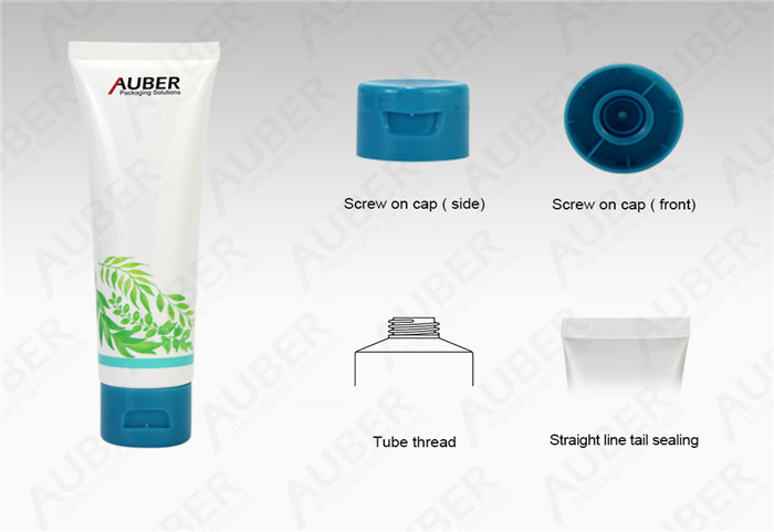D35mm Organic Skincare Product Packaging With Flip Top Cap