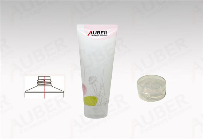 D40mm Elegant Plastic Laminated Tube with Transparent Flip Top Cap