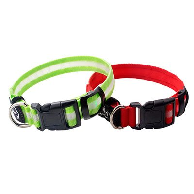 Led Dog Collar Factory: Nylon Custom Led Dog Collar Suppliers-QQPETS