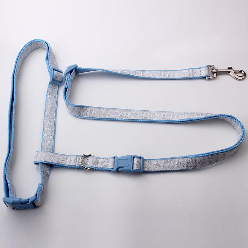 Fabricant Laisse de chien de course: Laisse de chien de course en nylon Jacquard-QQpets