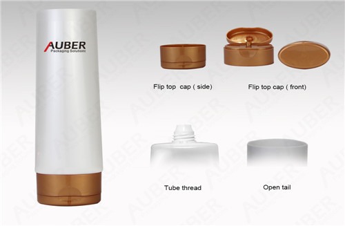 D50mm Oval Pearl Color Lotion Tube