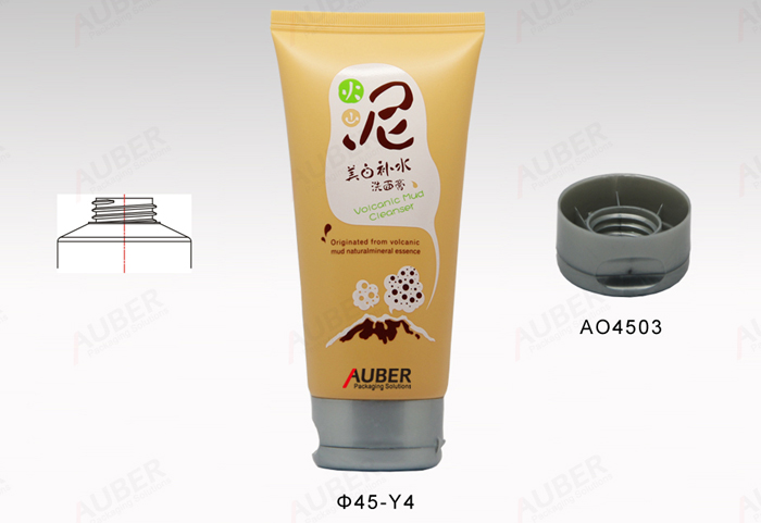 Dia 45mm Round Squeeze Tube Packaging