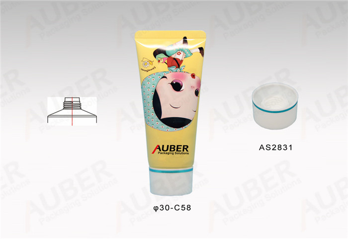 D30mm Cute Metal Skincare Tube with Screw On Cap